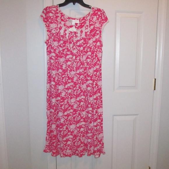 Eileen West Nightgown Modal Spandex Size Small. NWT bb0b2bfdf